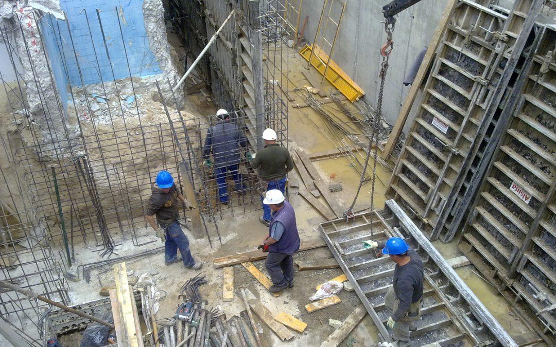 Construcción de ampliación en chalet