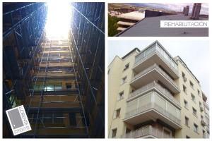 Rehabilitación de fachadas y patios