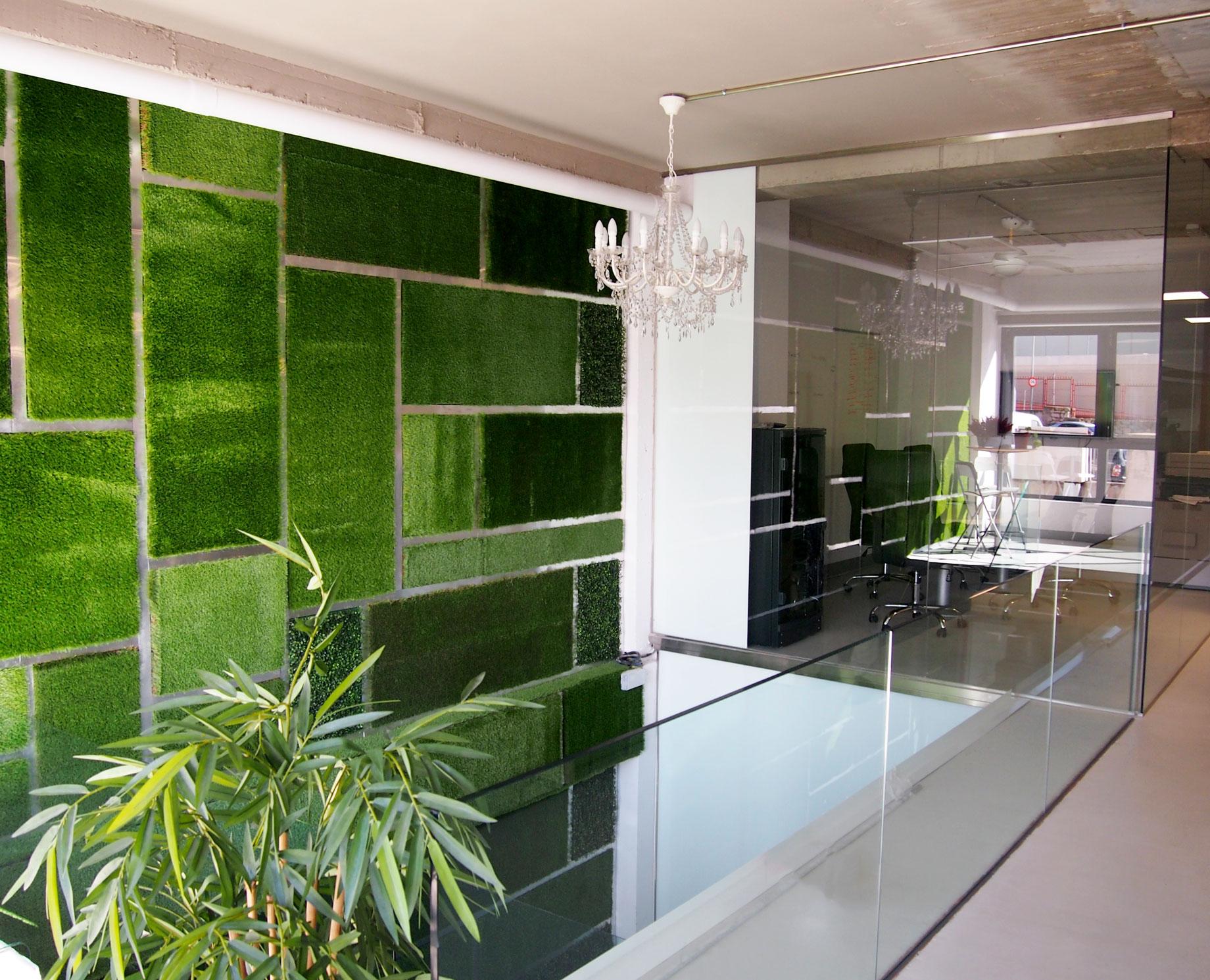 Dise o de oficina proyectos llorente arquitectura interior for Diseno de oficinas arquitectura